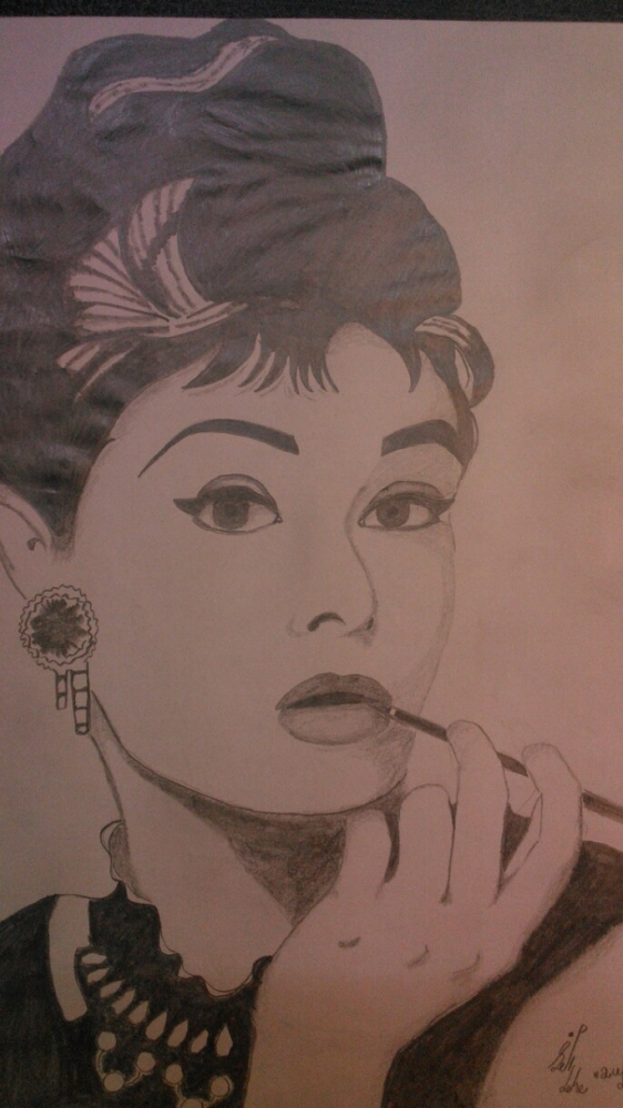Audrey Hepburn by Mnsgha
